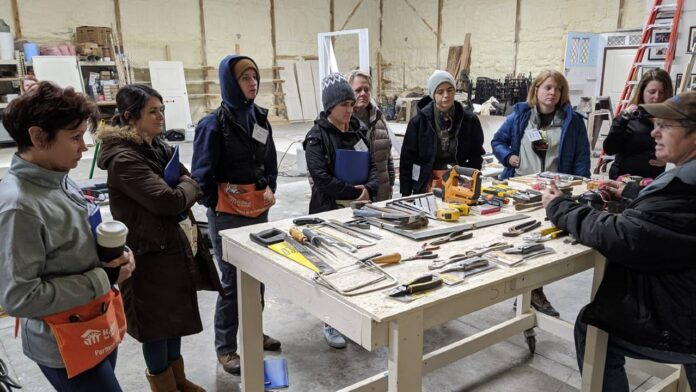 Home improvement course for women